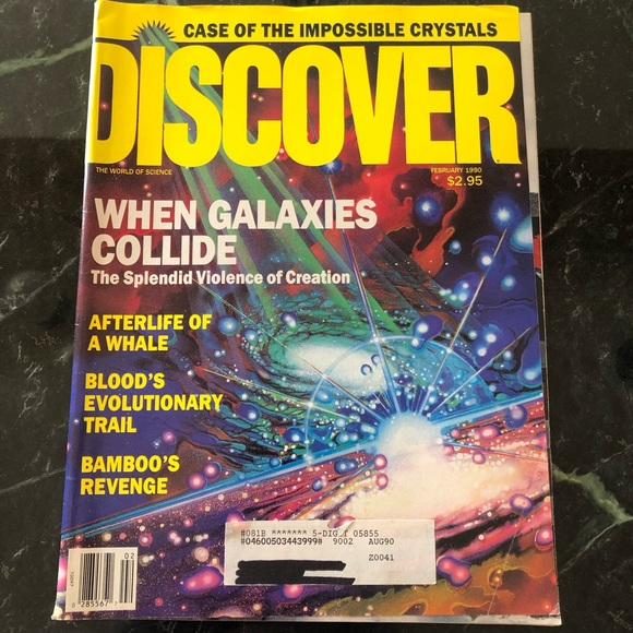 Feb. 1990 Discover (The World of Science) Magazine